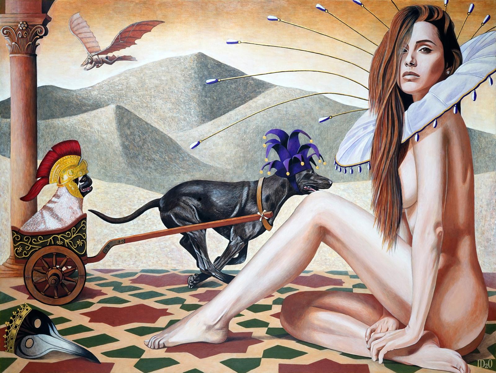 Daniel Porada painting